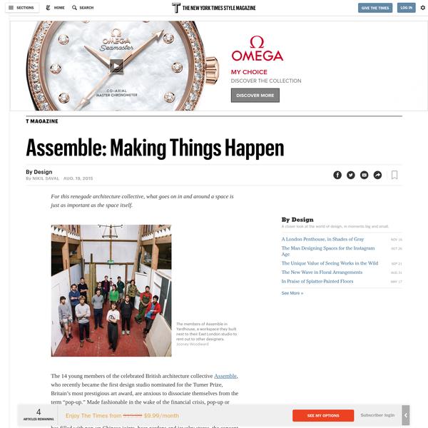 Assemble: Making Things Happen