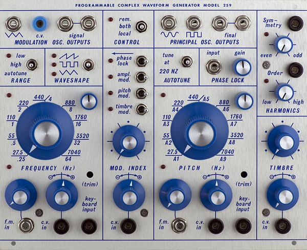 Buchla 259 – Programmable Complex Waveform Generator