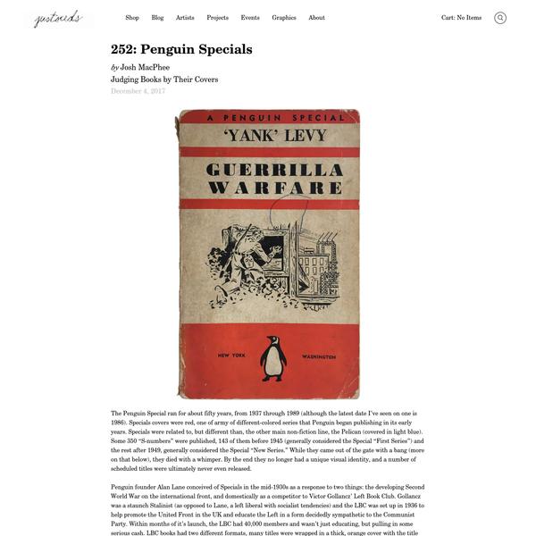 252: Penguin Specials