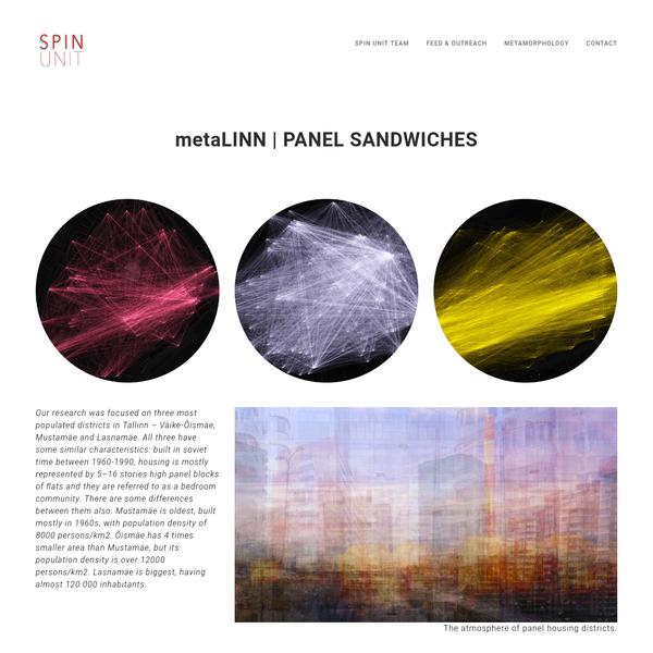 metaLINN | Panel houses - SPIN Unit