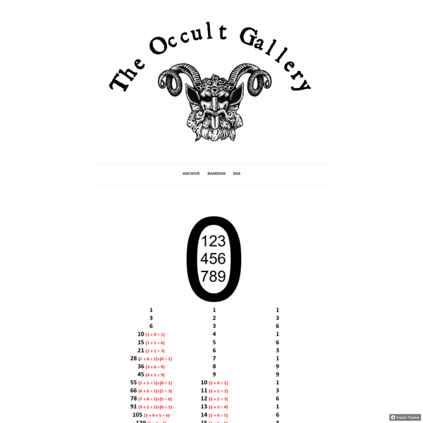 The Occult Gallery