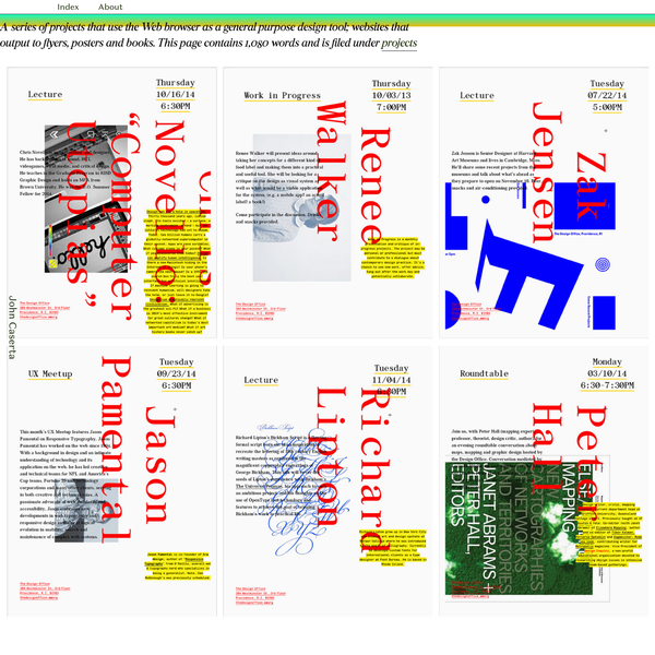 John Caserta Web to Print