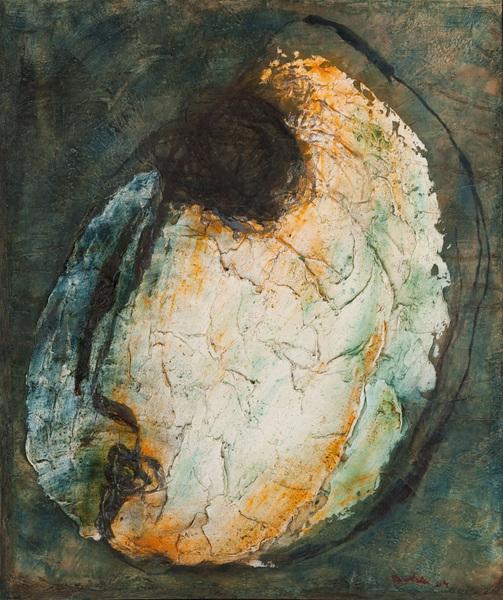 'Head of a Hostage', Jean Fautrier, 1943-4 | Tate