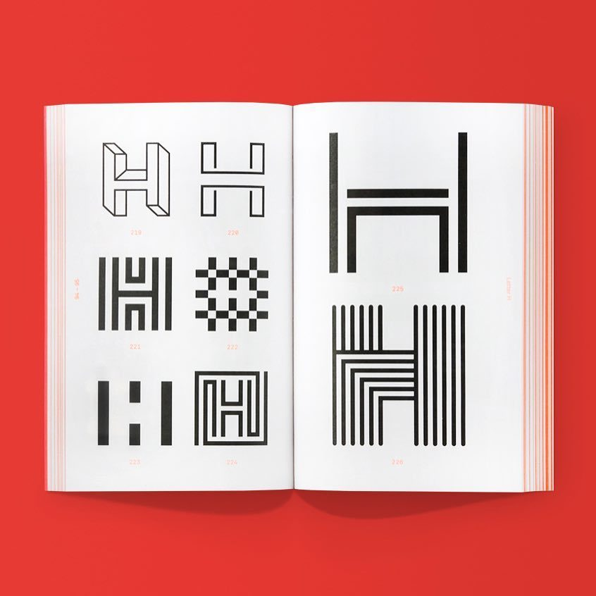 Back in Stock! Alphabet Logo: Trademarks and Symbols / Available at www.draw-down.com / A compendium of logos designed from letters of the alphabet. This volume contains over 500 logos from some of the world's leading design companies such as Bond Creative, Bruce Mau Design, FL@33, Hype Type Studio, Pentagram, Stockholm Design Lab, Wolff Olins and many more. Designed by Leterme Dowling. Softcover, 228 pages #graphicdesign #typography #alphabet #logos