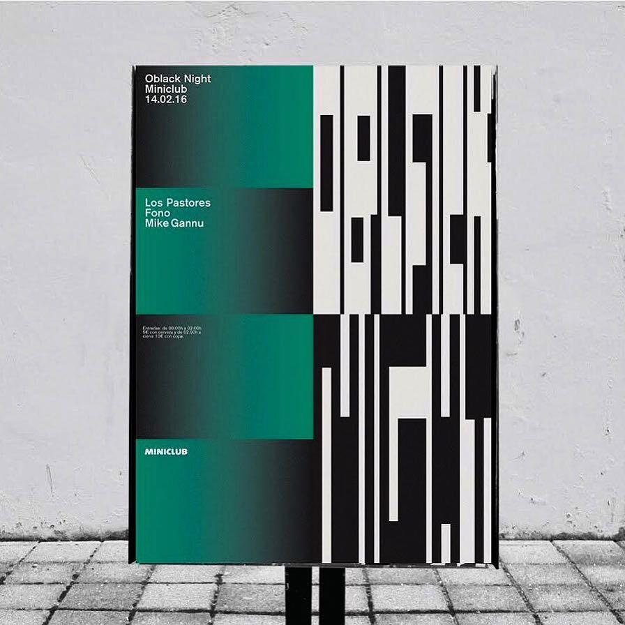 Poster design for Oblack Night*