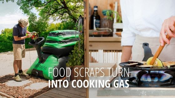 HomeBiogas is raising funds for HomeBiogas 2.0: Transforms Your Food Waste Into Clean Energy on Kickstarter! Recycle your food scraps in a completely safe and convenient way,