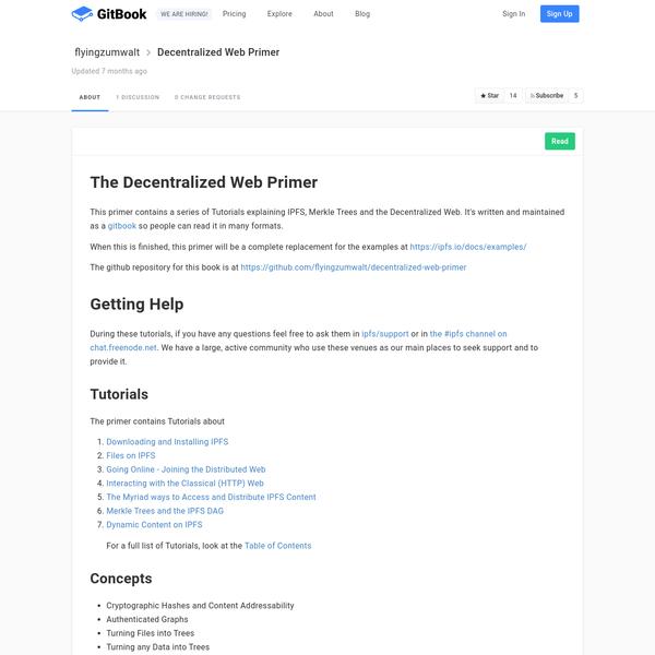 decentralized-web-primer:
