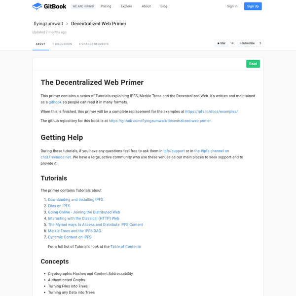 Decentralized Web Primer · GitBook