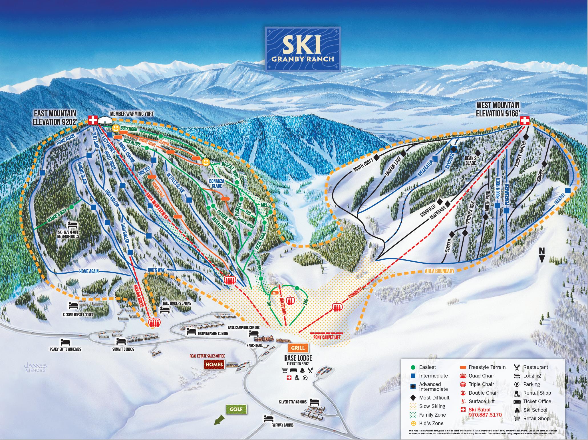 slope maps on