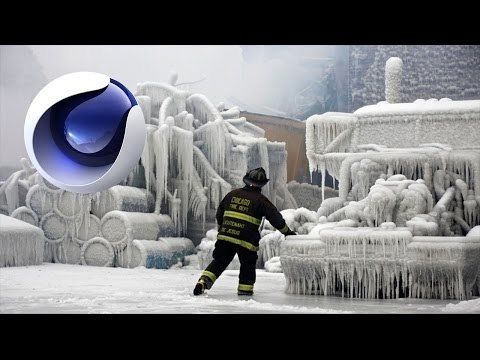 Cinema 4D: Animated Frost Effect Tutorial