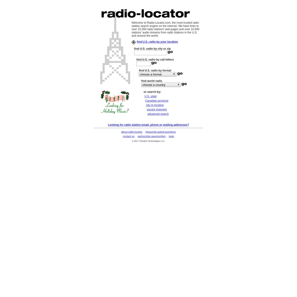 Radio Station Search Engine