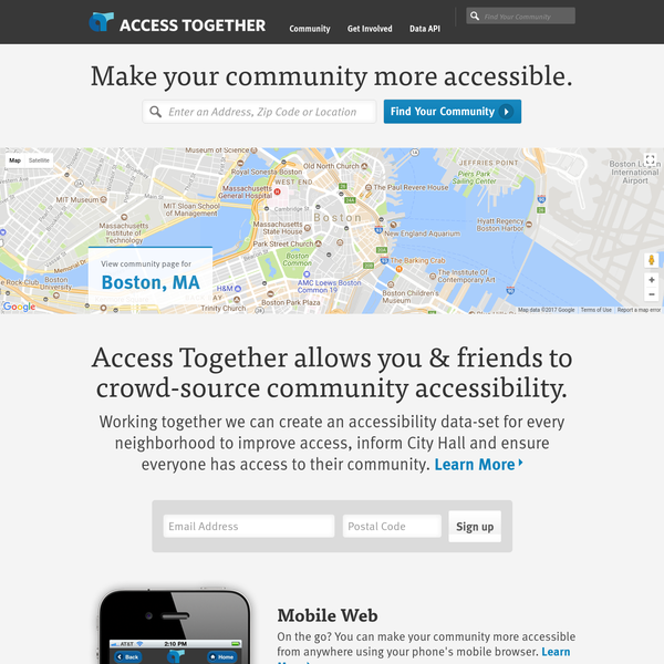 Make your community more accessible