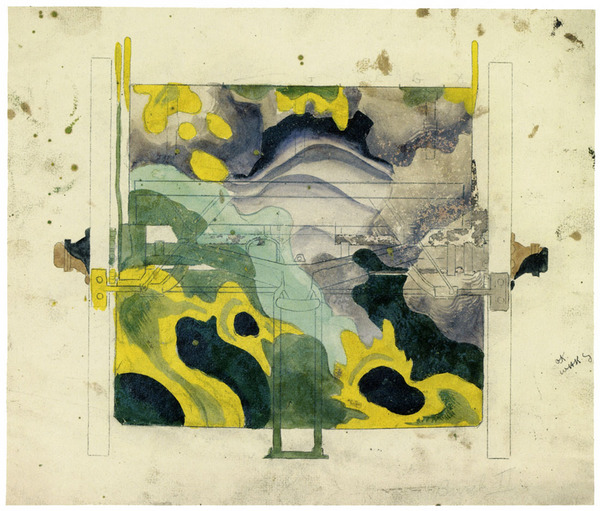 Charles Burchfield (Camouflage design), approx. 1918