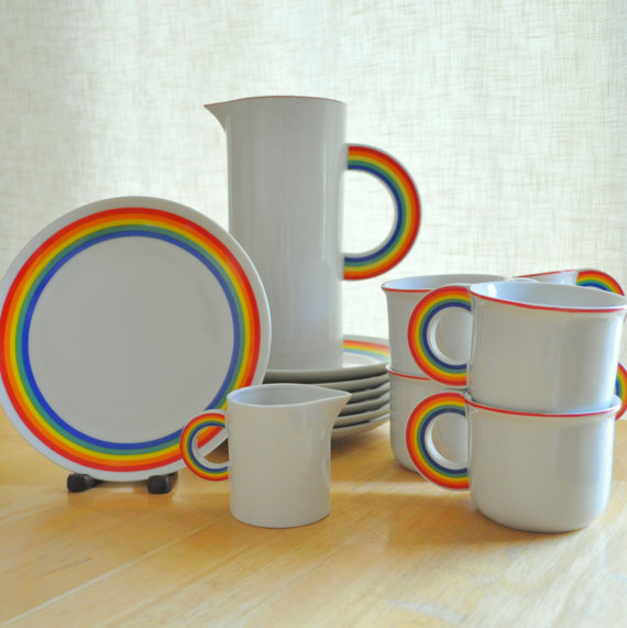Vandor Ceramics I have ONE of these mugs but these are the most amazing dishes ever!