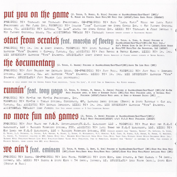 The Game, 2005  *(interior)*