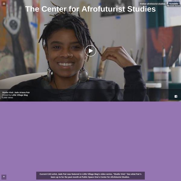 The Center for Afrofuturist Studies