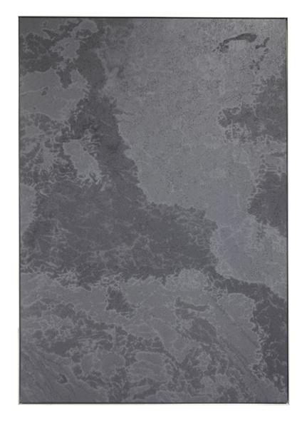 "Marc Handelman, Dimension Stone XX, A Certain Form of Blindness 2011 Oil on Canvas, Aluminum Frame 62.5"" X 43.5"" (158.75 cm X 110.5 cm)"