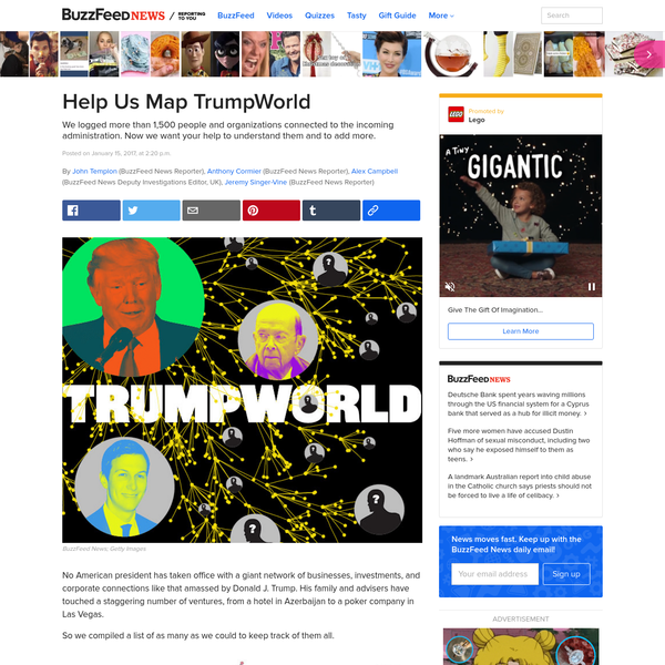 Help Us Map TrumpWorld