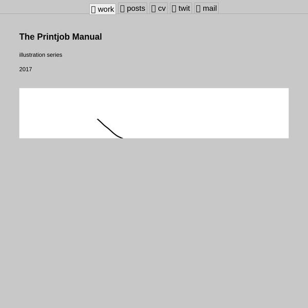 The Printjob Manual - Drew Wallace