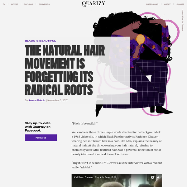 The natural hair movement is forgetting its radical roots
