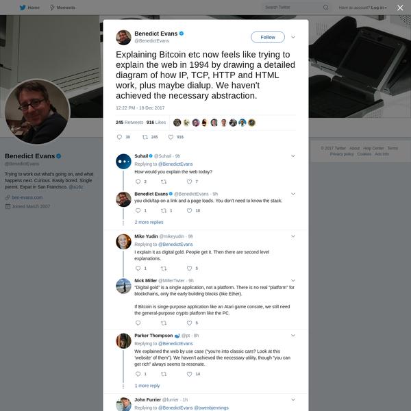 Benedict Evans on Twitter