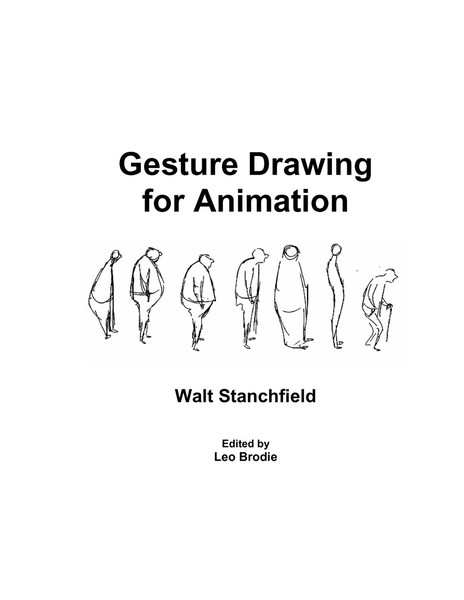 Gesture Drawing for Animation – Walt Stanchfield