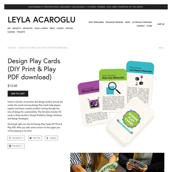 design card decks