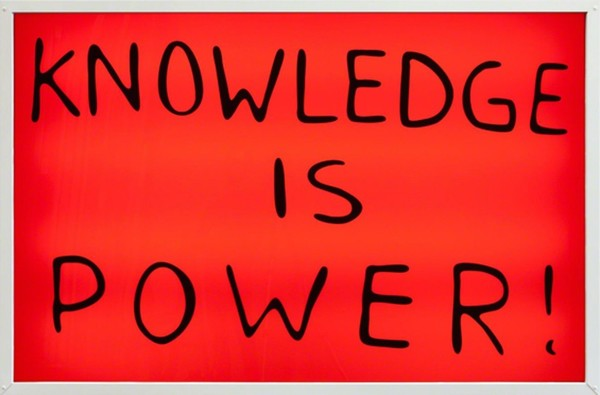 Sam Durant, Knowledge is Power! (2015)