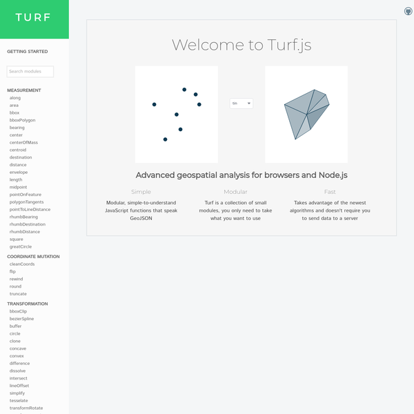 Turf.js | Advanced Geospatial Analysis