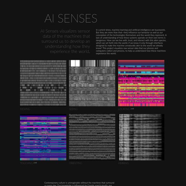 AI Senses by Kim Albrecht