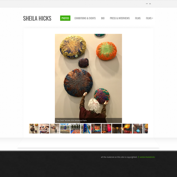Sheila Hicks, contemporary fiber artist