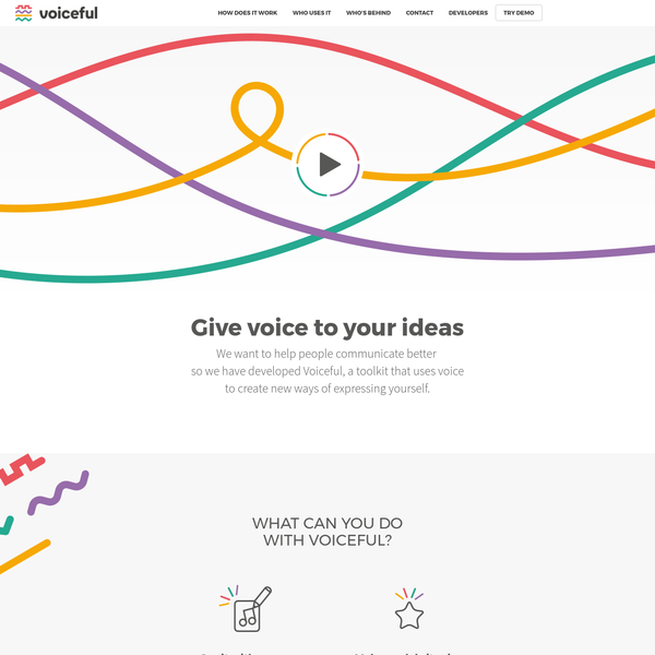 Voiceful - Give voice to your ieas
