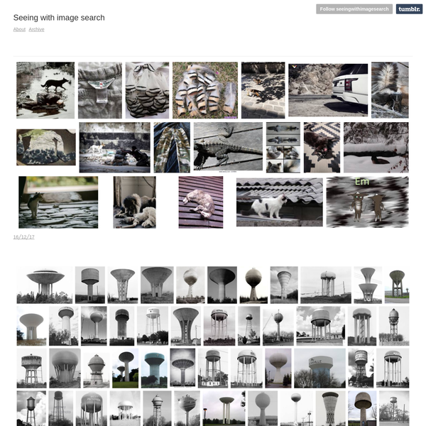 Seeing with image search