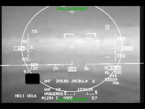 "This newly declassified video footage from the head-up-display of a U.S. Air Force Arizona Air National Guard F-16 records the dramatic moment when its unconscious pilot is saved from certain death by the aircraft's Automatic Ground Collision Avoidance System. Read more about the ""save"": http://aviationweek.com/technology/auto-gcas-saves-unconscious-f-16-pilot-declassified-usaf-footage"