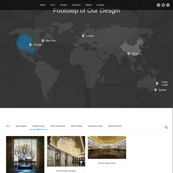 Project display - Wanda hotel design and Research Institute - Wanda Hotel,hotel design,Design Institute