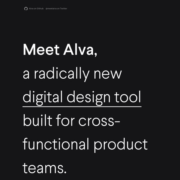 Meet Alva