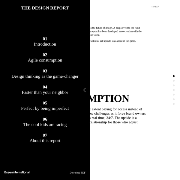 THE DESIGN REPORT