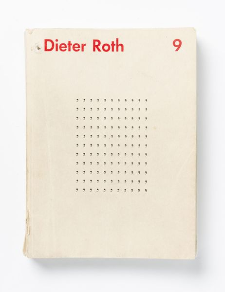 "When Roth first started making Concrete poetry, in the mid-1950s, he termed his compositions ""ideograms""; in them, pictures are formed out of letters, punctuation, or other letterset characters. As the rigor of this exercise began to wear on him, he found release in a visually related but philosophically distinct activity, which he called ""stupidograms."" Working from a grid of printed commas, he used a pen or pencil to coax out looping chains, teacups, toothbrushes, and other forms, mimicking word-search games. As part of his increasing play with verbal-visual equivalency, here the artist circled punctuation to form pictures rather than circling letters to form words."