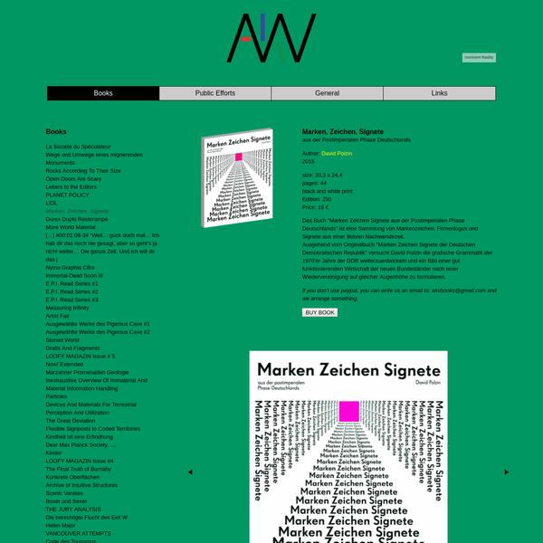 AKV Berlin - Marken, Zeichen, Signete