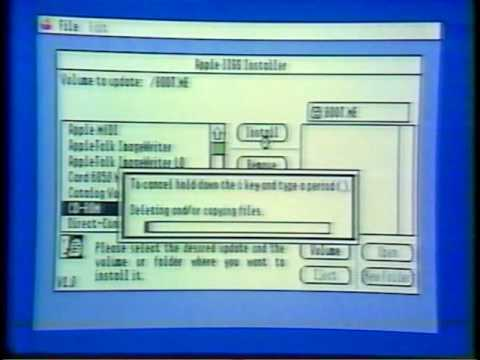 The world-famous Computer Chronicles show introducing the Apple IIgs.
