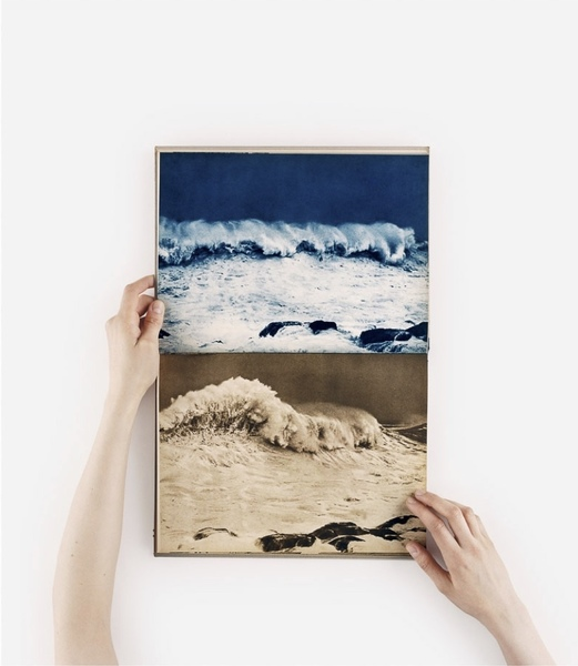 Anne Collier - Open Book (Waves) (2015)