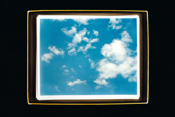 Anne Collier - 8 x 10 (blue) (2007)