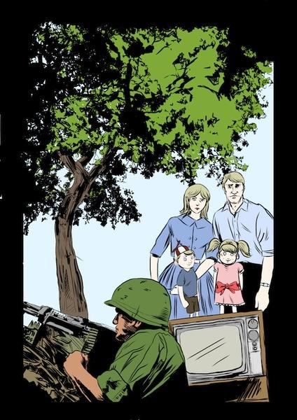Adultra comic pg 3, 2009