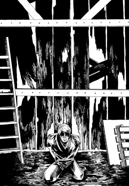 Dead Age Comic pg.1, 2007