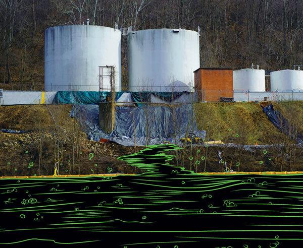 Elk River Illustration for UF, Digital, 2013