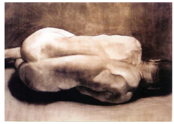 Nude, Charcoal on paper, 2004