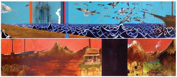 Untitled, Oil on Wood, 2006
