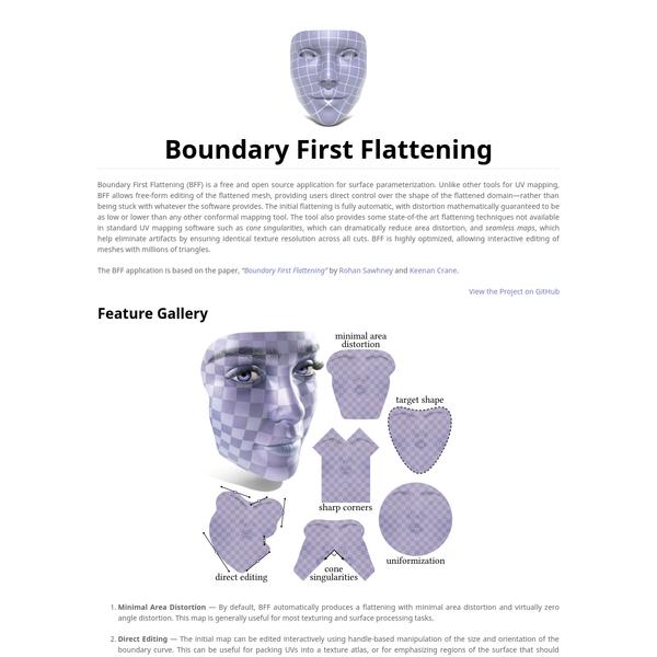 boundary-first-flattening