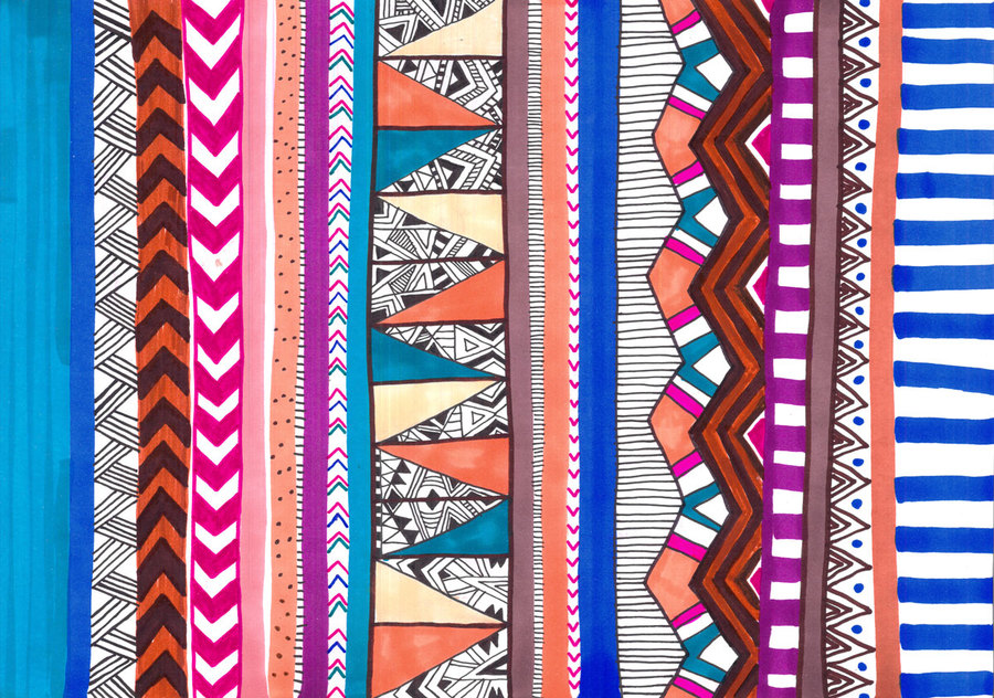 Tribal pattern drawings tumblr