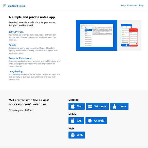 Standard Notes | A Simple And Private Notes App